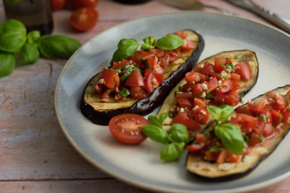 low carb bruschetta